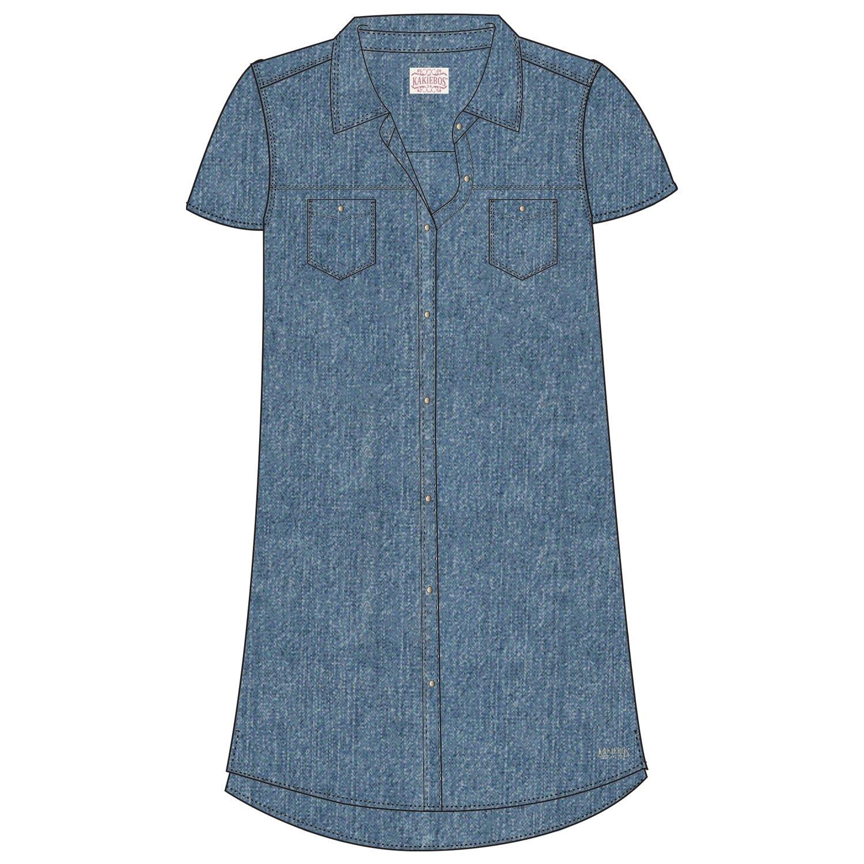 Kakiebos Women's Denim Shirt dress