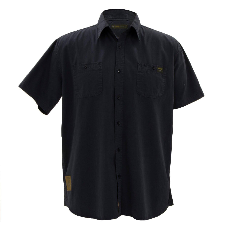 Jeep Men's Workshirt Short sleeve Shirt