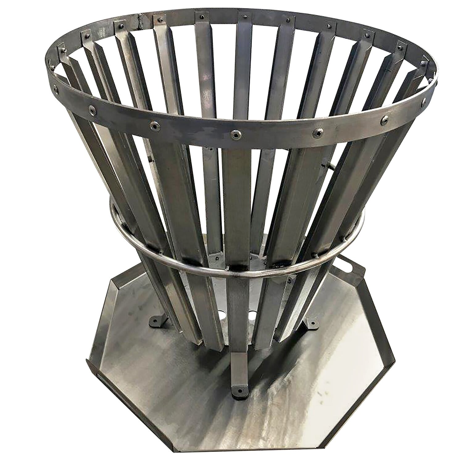 Technipunch Stainless Steel Fire Pit Boma