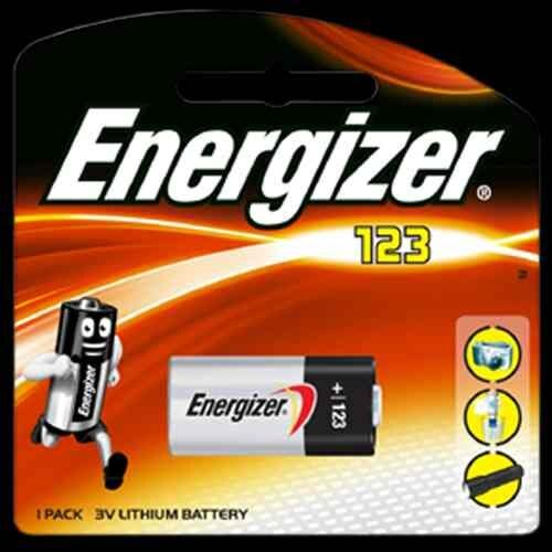 Energizer Photo Lithium 3v 123 Card 1