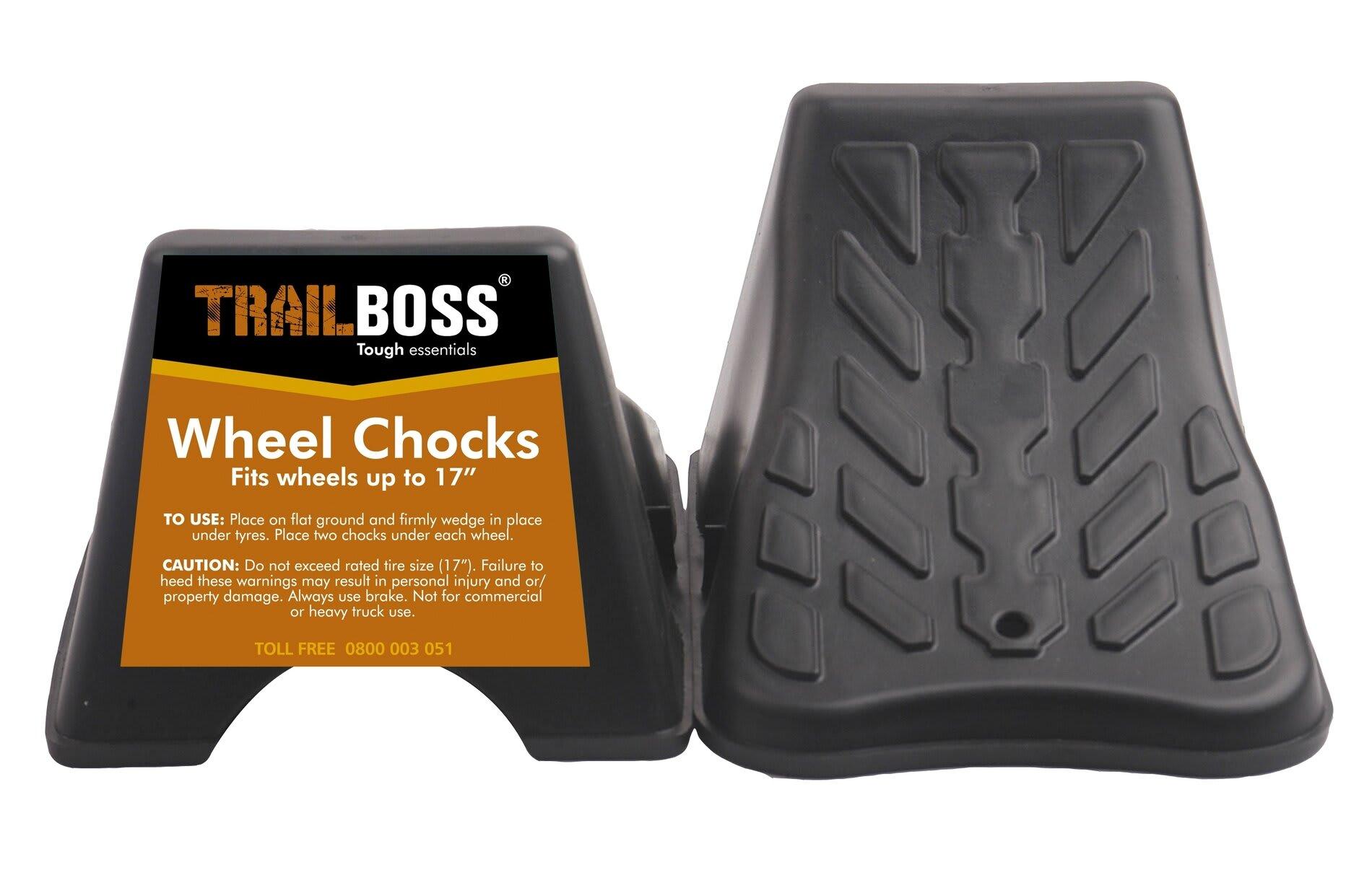 TrailBoss Wheel Chock 2Pack
