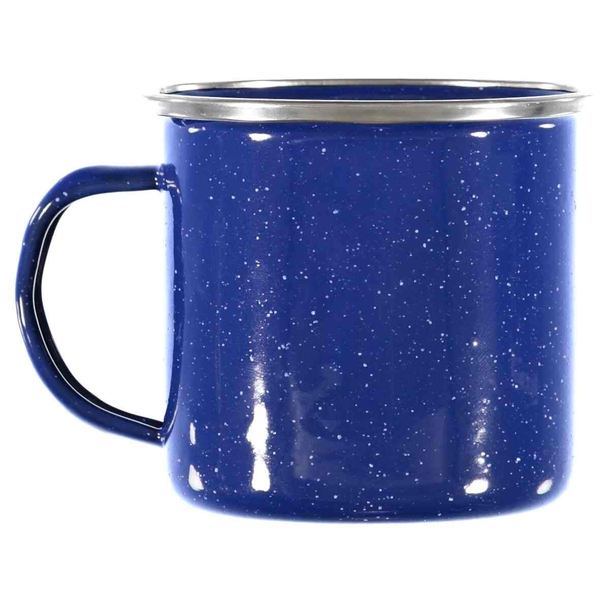 Natural Instincts Blue Enamel Mug