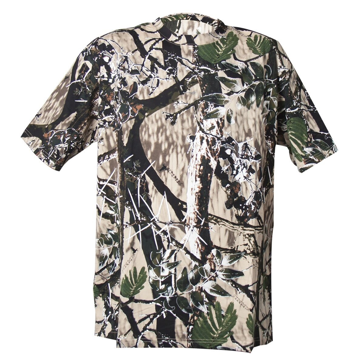 Wildebees Men's Short Sleeve Camo Tee