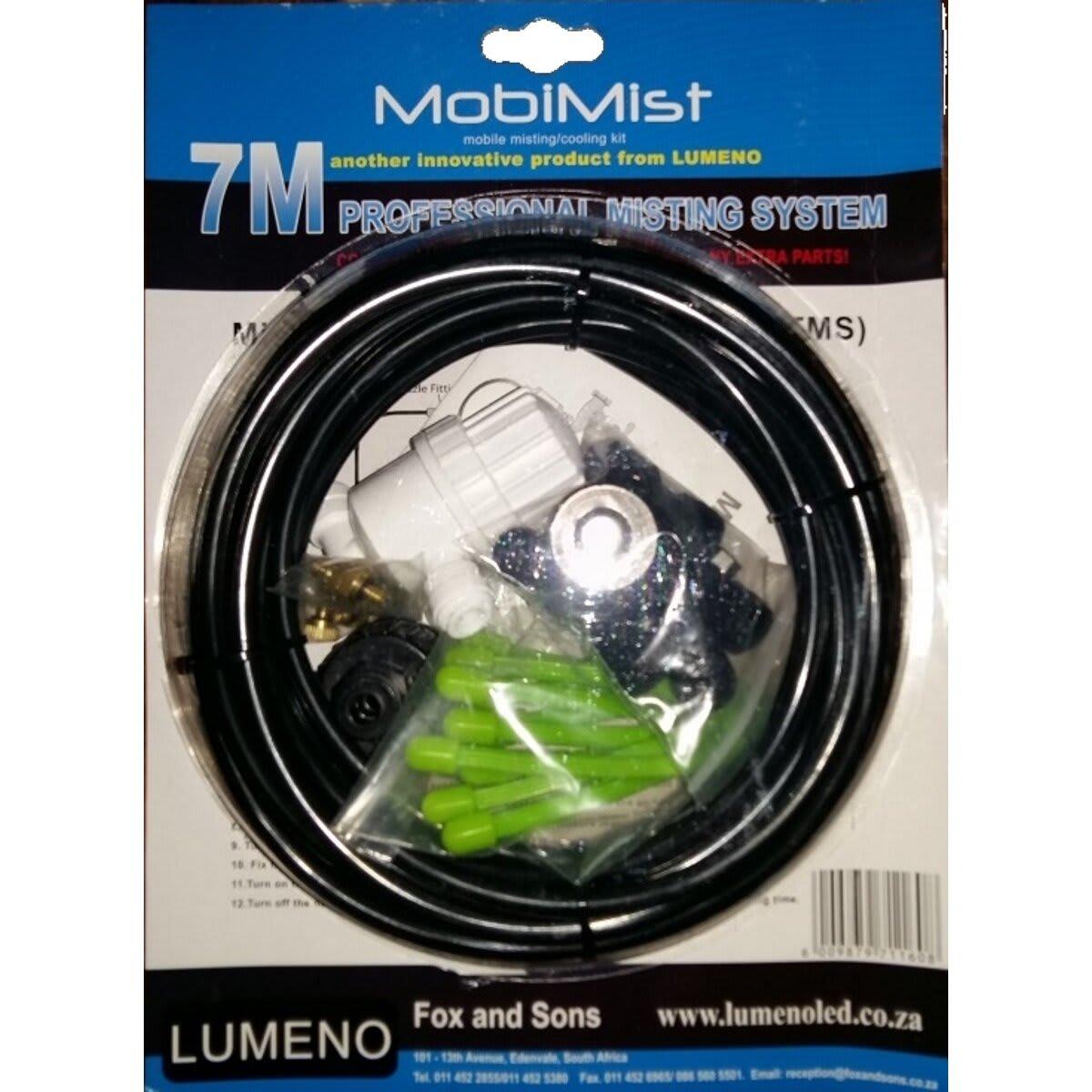 Lumeno MobiMist 7m Mobile Misting/Cooling Kit