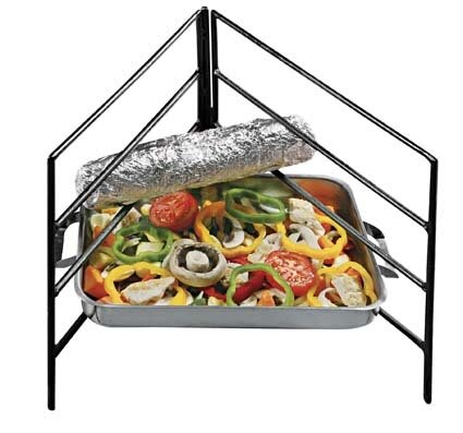 Fireside Bri-Pod 4-level Grid Stand