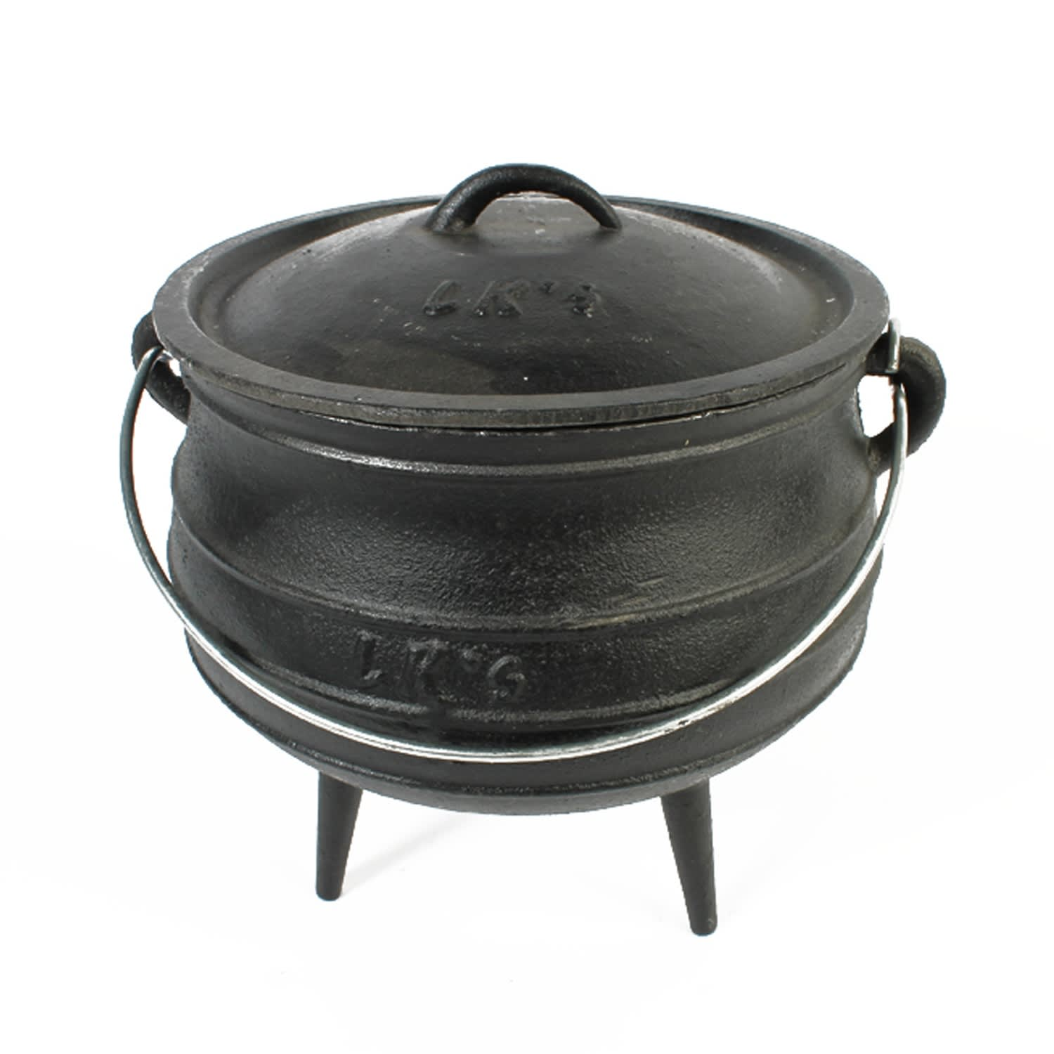 LK's Cast Iron 3 Leg Pot - 1/4