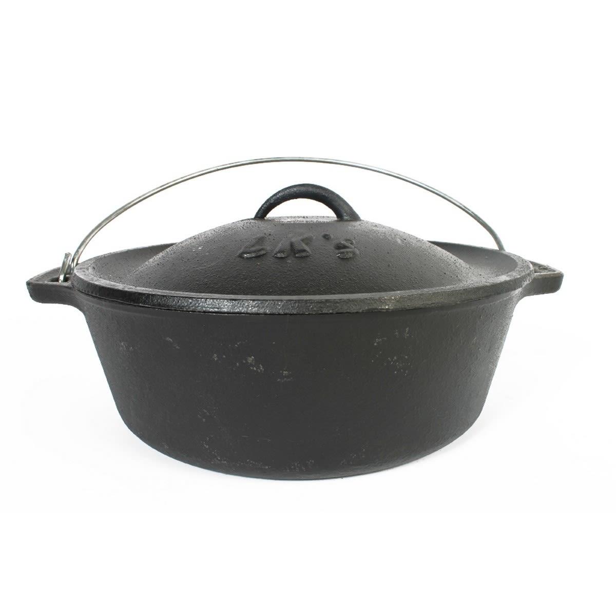 LK Cast Iron Bake Pot - No. 12