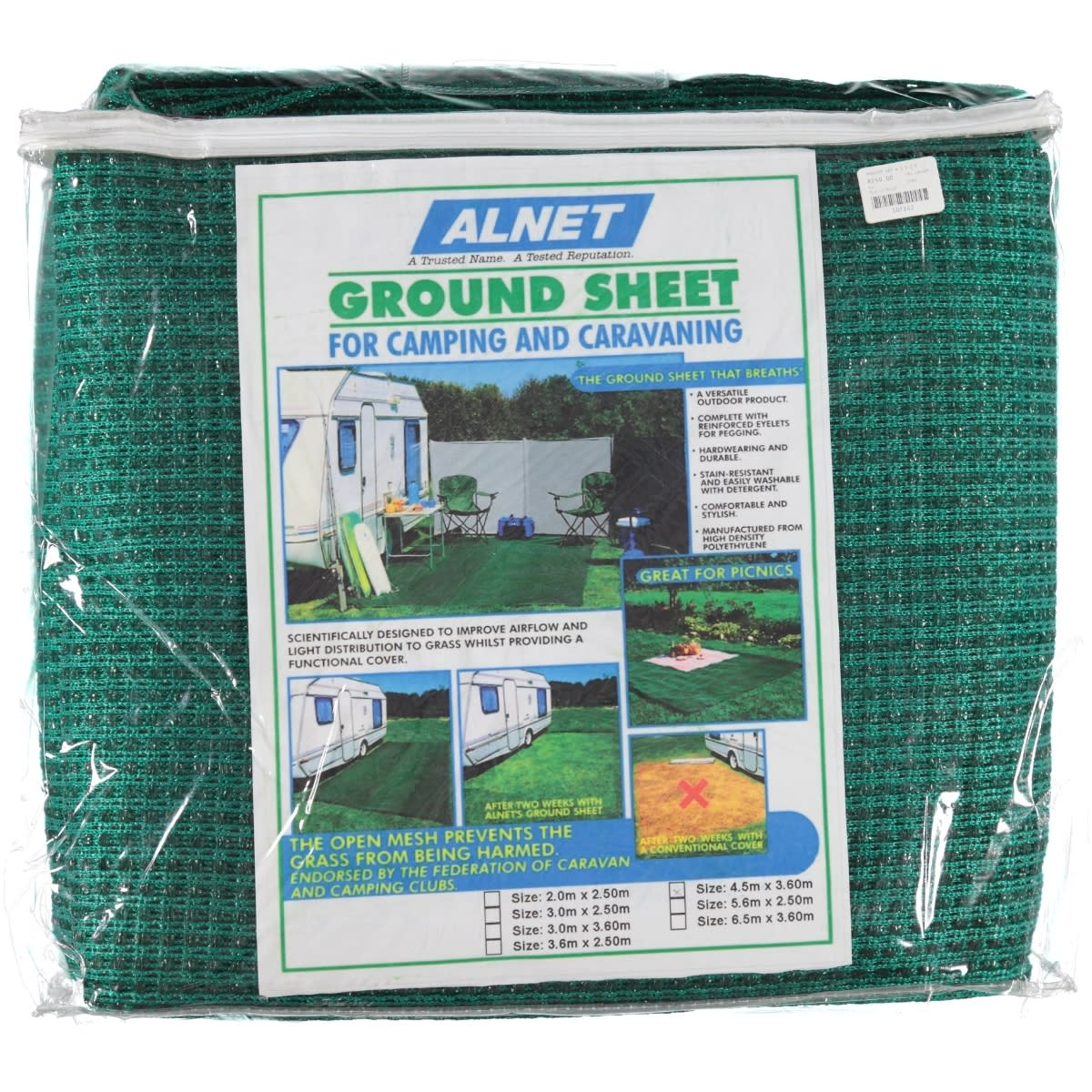 Alnet Netted Groundhseet 4.5x3.6
