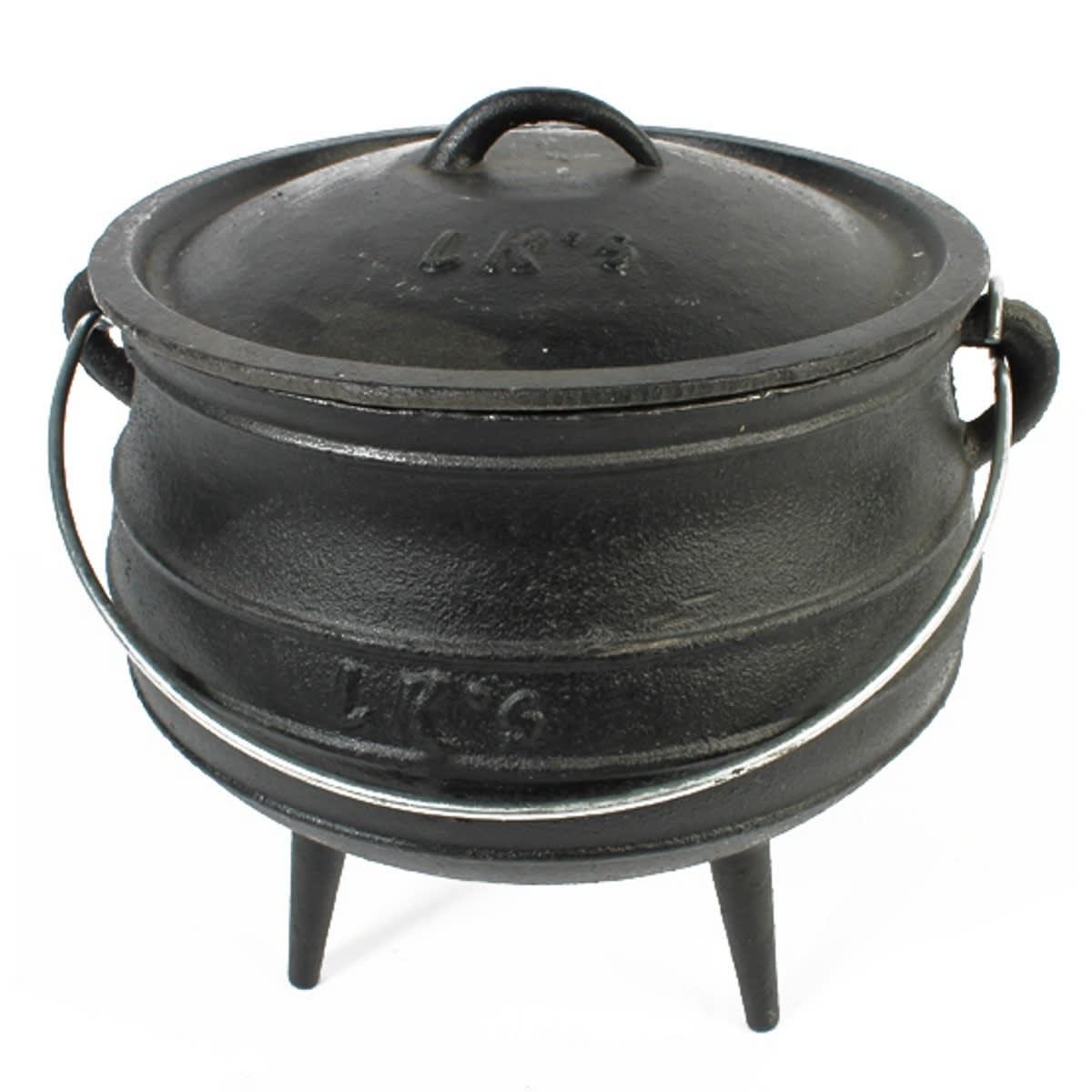 LK's Cast Iron 3 Leg Pot - 1/8