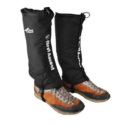 First Ascent Full Calf Waterproof Gaiters (L/XL)