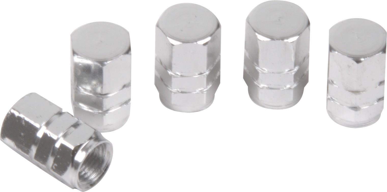Moto-Quip Aluminium Valve Caps - Set of 5