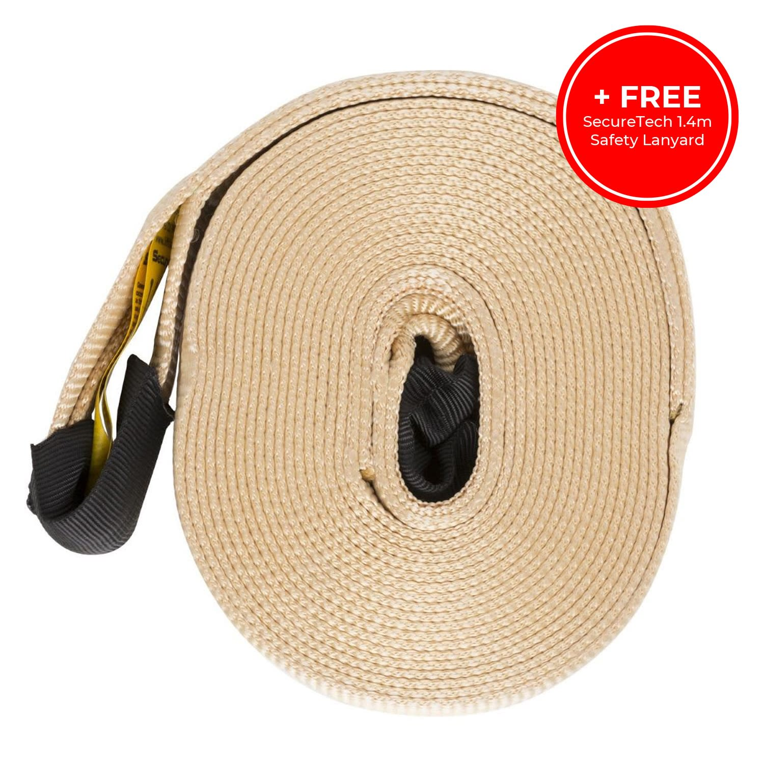 SecureTech Snatch Strap 12Ton x9M x80mm
