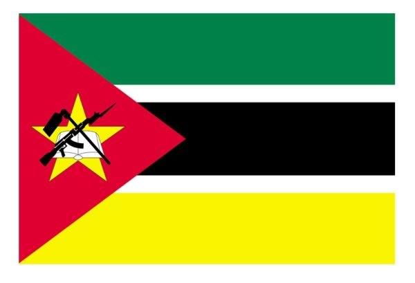 Mozambique Flag Sticker