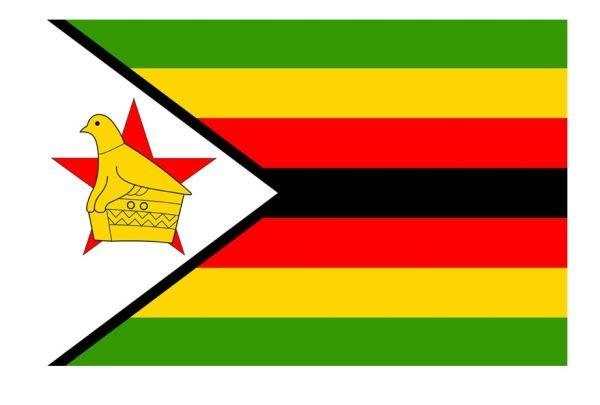 Flag Sticker-Zimbabwe