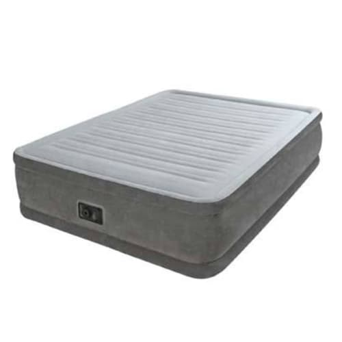 Intex Fiber-Tech Comfort-Plush Elevated Airbed Queen Size
