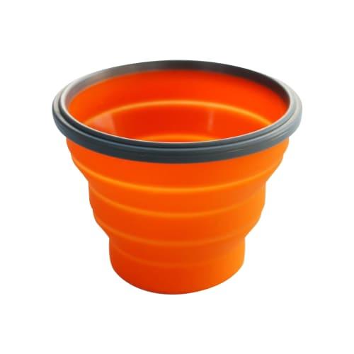 360 Degrees Folding Silicone Bowl