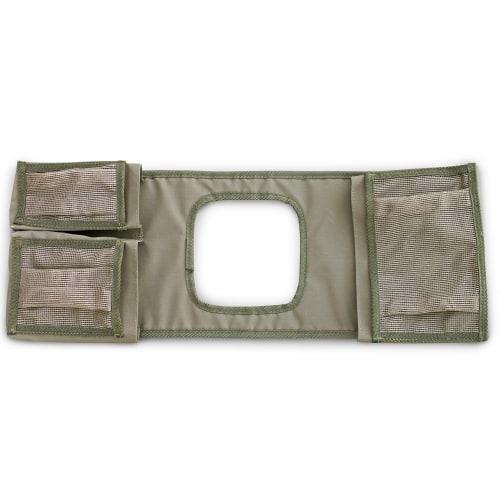 Camp Cover Gear Saddle Bag - Khaki Standard