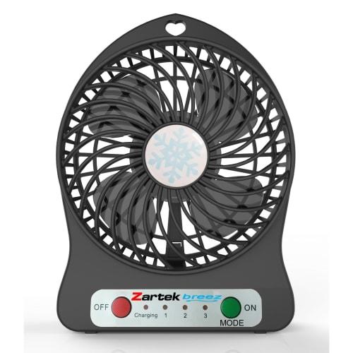 Zartek Rechargeable Mini Fan