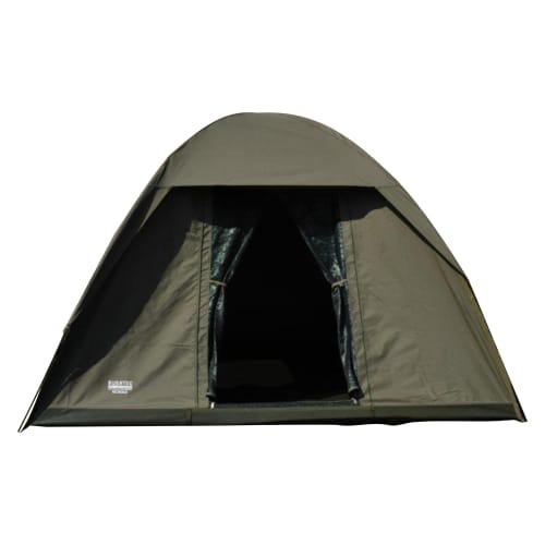 Tent: Bushtec Nomad 4-Person Canvas Dome Tent