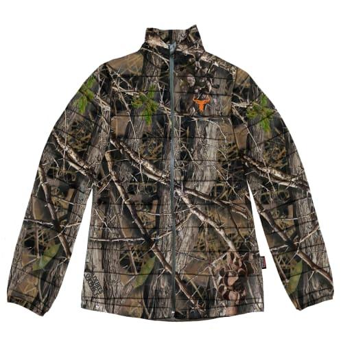 Wildebees Men's Camo Puffer Jacket