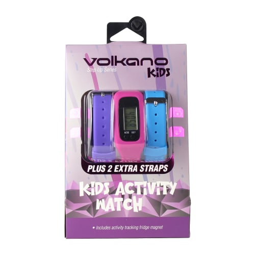 Volkano Girls Activity Step Up Watch