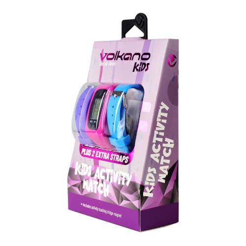 Volkano Girls Activity Step Up Watch