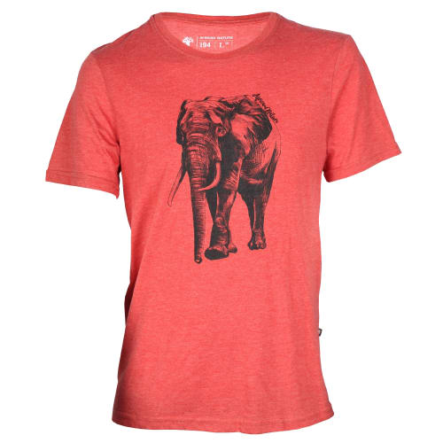African Nature Mens Elephant Tee