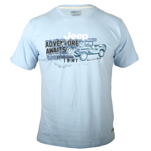 Jeep Men's Adventure Truck Tee