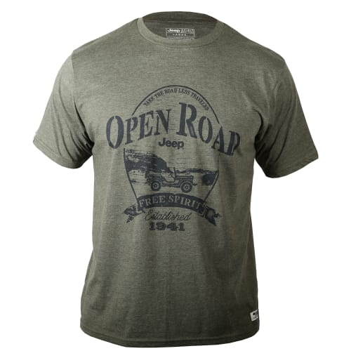 Jeep Men's Open Road Tee