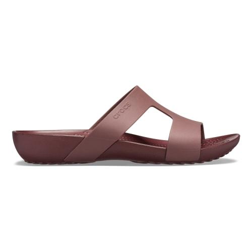 Crocs Serena Slide Womens (Burgundy)