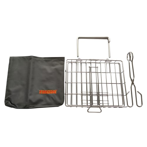 Fireside Stainless Steel Small Grid Set