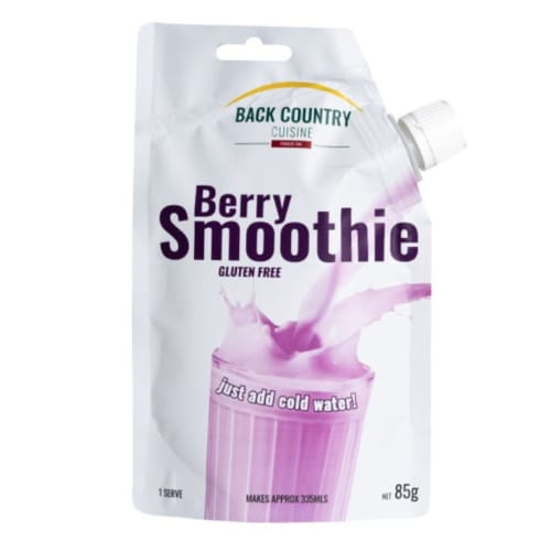 Back Country Berry Smoothie
