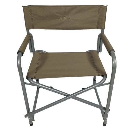 Natural Instincts Khaki Director Chair