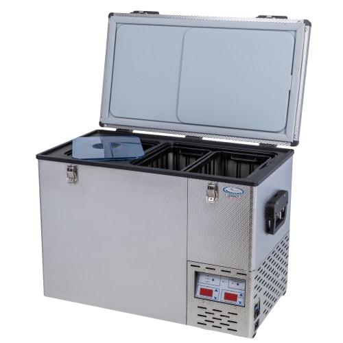 National Luna Legacy NL90 Stainless Steel Fridge/Freezer