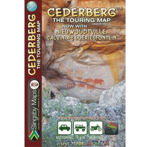 Slingsby Cederberg Touring Map
