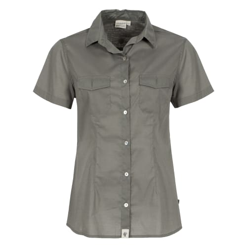 African Nature Women's Ess Voile Shiort Sleeve Shirt