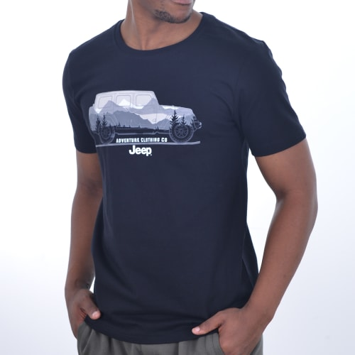 Jeep Men's Car Graphic Tee