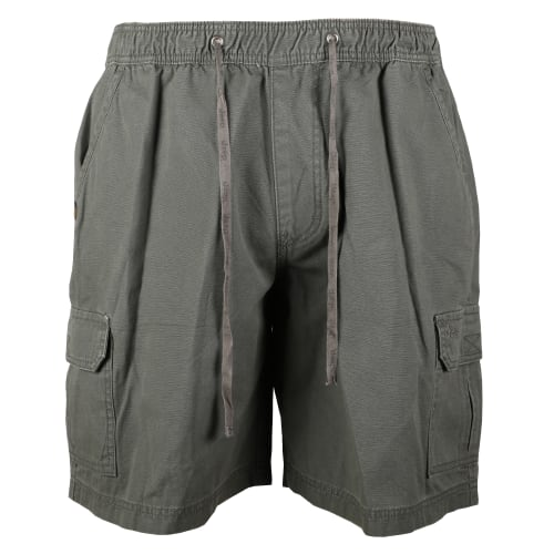 Jeep Men's 21cm Elasticated Canvas Short