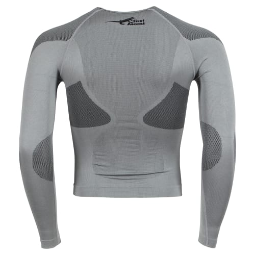 First Ascent Men's Derma-Tec Seamless Long Sleeve Top