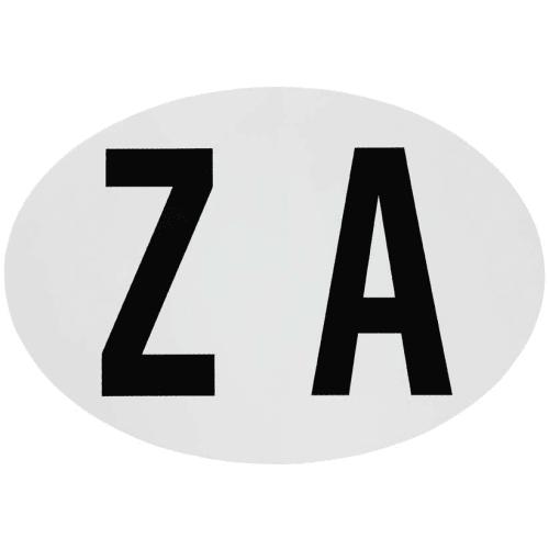 Small ZA Sticker
