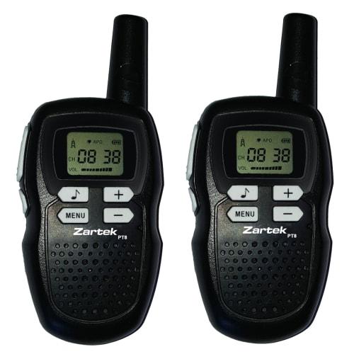 Zartek PT8 Two-Way Radio's Twin Pack