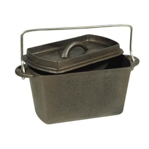 Fireside Cast Iron Bread Pot