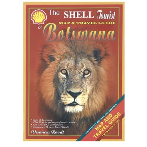 Shell New Tourist Botswana Book+Map