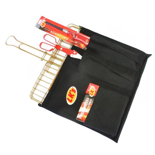 Fireside Bigbox Braai Set with Sliding Handle