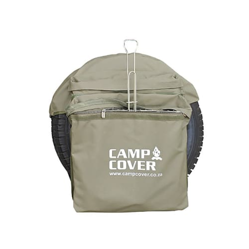 Camp Cover Safari Wheel Bin Bag Large