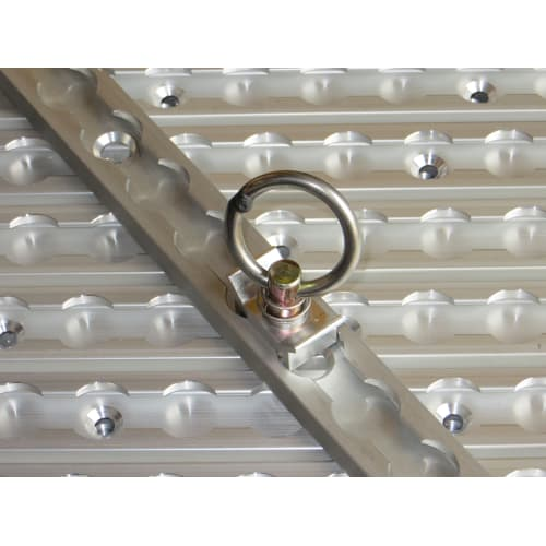 SecureTech Aluminium Cargo Track Single Stud