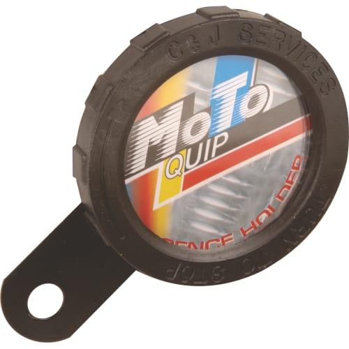 Moto-Quip Single License Disc Holders