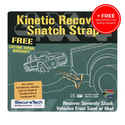 SecureTech 8T Snatch Strap