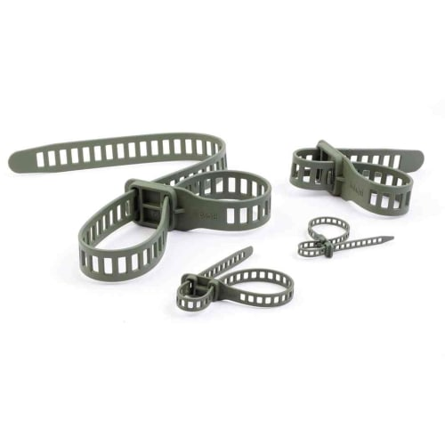 Flexi-tie 5 in 1 set (one of each size per pack)