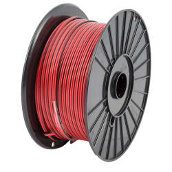 4mm Battery Cable Red & Black p/m